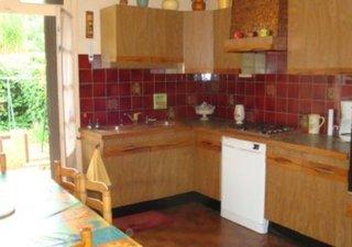 Montpellier quartier Marquerose Maison de ville 90m² T5 RDC sejour  cheminee cuisine separee equipee [...]