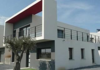 PERPIGNAN SUD EST: Villa neuve traversante de 147m² hab. située dans le quartier le plus prisé de Pe [...]