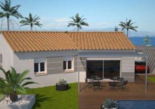 Maison à construire à Ganges (34190) Au nord de Montpellier, à seulement une demie-heure , votre village de plain pied, construction en RT 2012 avec v [...]