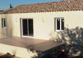 proche de ALES, St privat des vieux, dans quartier calme, villa récente comprenant 4 pièces, séjour de 49m2, salle d\