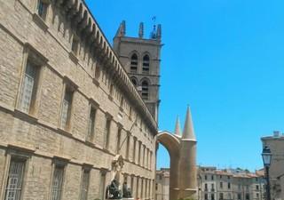 dernier étage   vue dégagée  charme centre historique - Montpellier - Centre historique - Vue except [...]