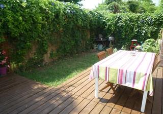 MONTPELLIER OUEST  Rare! Superbe maison de 80m² entièrement rénovée, beau séjour ouvert sur jardin,  [...]