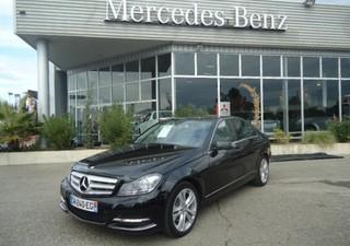 MERCEDES-BENZ Classe C 250 CDI Avantgarde Ex 4M 7G - année 2012 Diesel NOIR OBSIDIENNE 162400km ABS, [...]