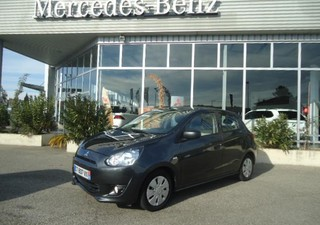 MITSUBISHI Space Star 1.0 MIVEC AS&G Invite - année 2013 Essence GRIS 49500km ABS, Aide au freinage  [...]
