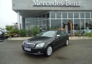 MERCEDES-BENZ Classe C 220 CDI Elegance - année 2008 Diesel NOIR 146000km ABS, Airbag genoux, Airbag [...]