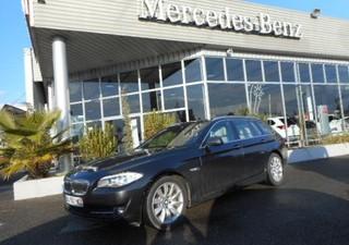 BMW Serie 5 Touring 525dA Exclusive - année 2011 Diesel Noir 100450km Affichage tête haute, Caméra d [...]