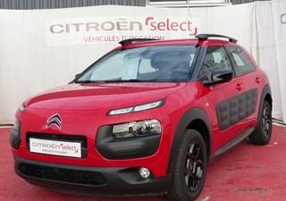 CITROEN C4 Cactus BlueHDi 100 Feel Business - année 2017 Diesel ROUGE ADEN 7270km ABS, Aide au démar [...]